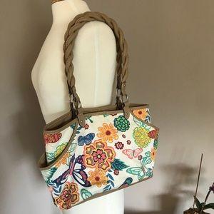 Rosetti colorful floral pattern purse